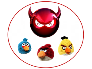 Hackean Angry Birds