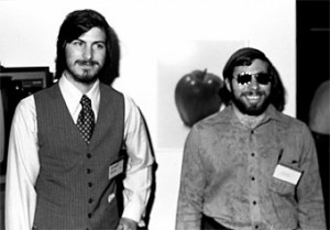 Steve Jobs y Wozniak en 1977